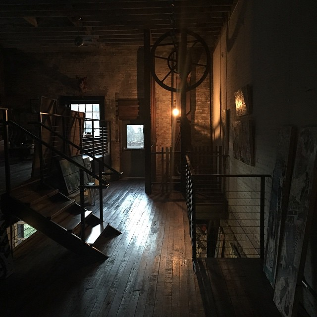 A Haunted house or studio? Hard to tell