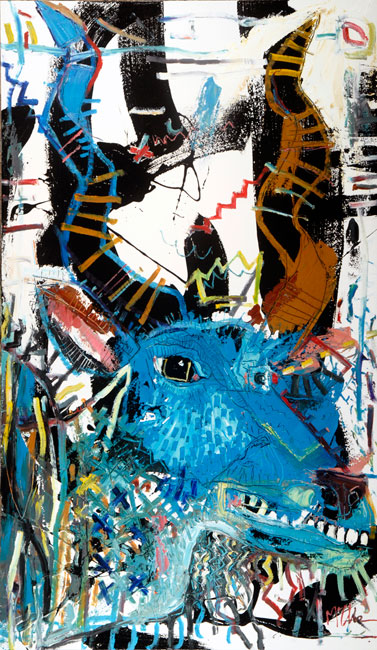 kudu daniel mcclendon asheville art