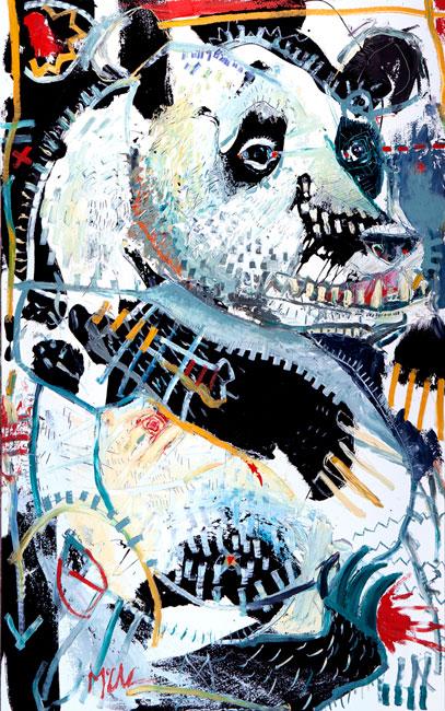 panda daniel mcclendon asheville art
