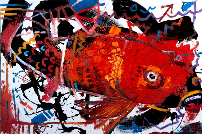 koi daniel mcclendon asheville art