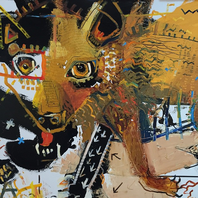 Coyote detail #
