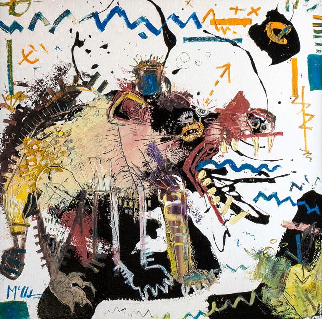 Tasmanian Devil Daniel McClendon artist