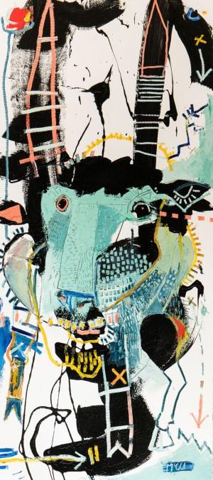 Gazelle Painting Asheville artist