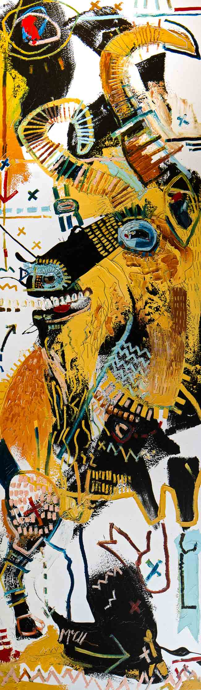 goat mcclendon asheville art