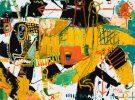 grasshopper abstract modern art asheville mcclendon