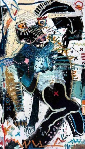 Jackrabbit Modern art asheville mcclendon