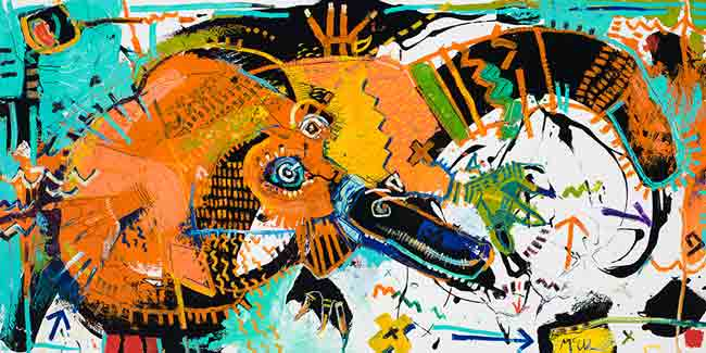 platypus modern abstract mcclendon