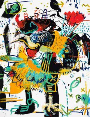 Rooster Modern art asheville McClendon