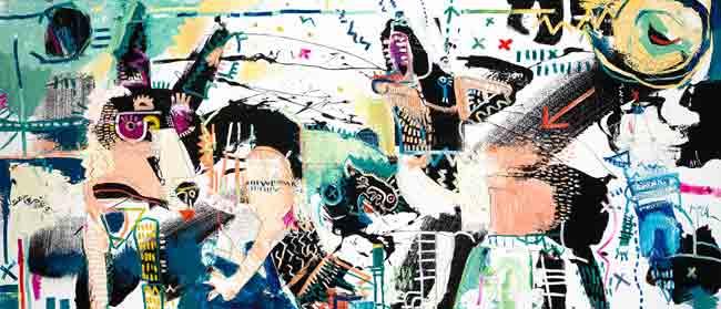 Jackals McClendon modern art