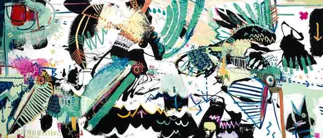 Pelicans asheville Modern contemporary art