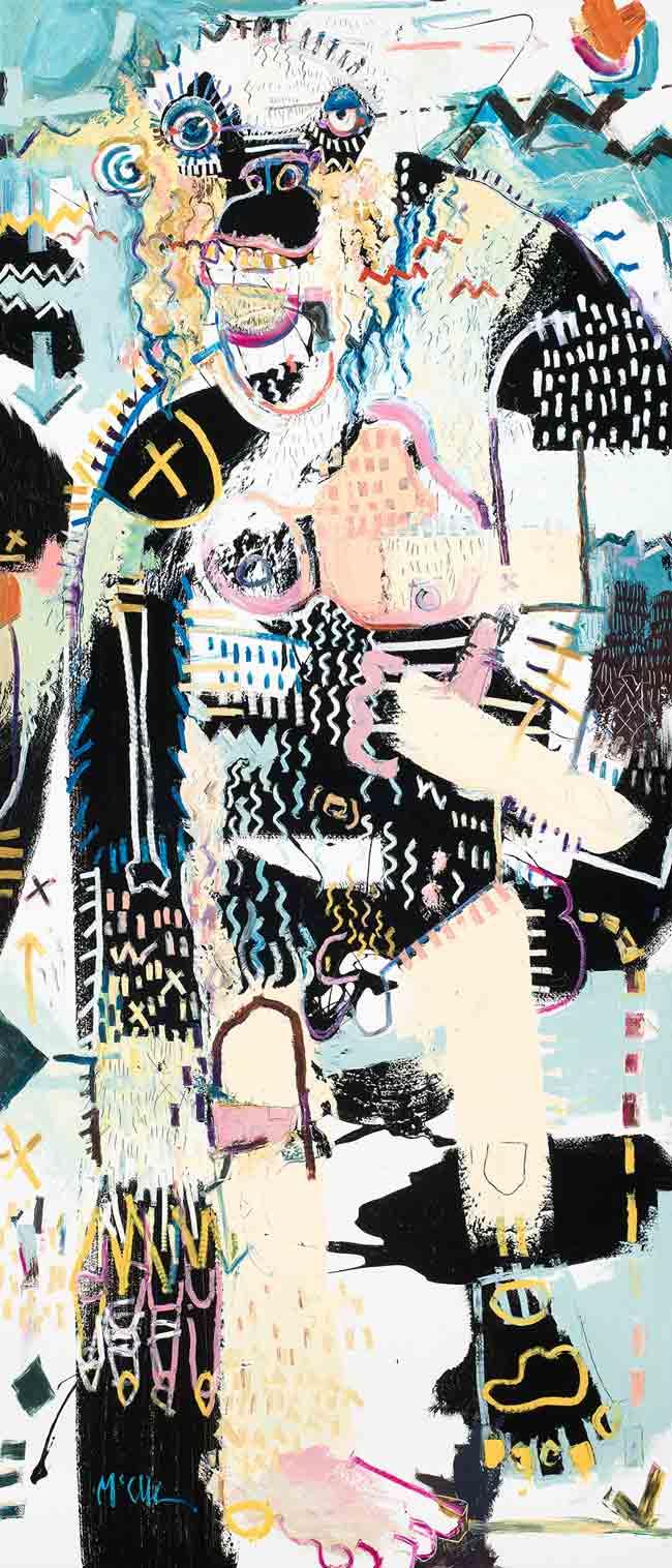 Yeti Modern Art Asheville McClendon