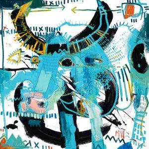 Bull 3 mcclendon modern art asheville