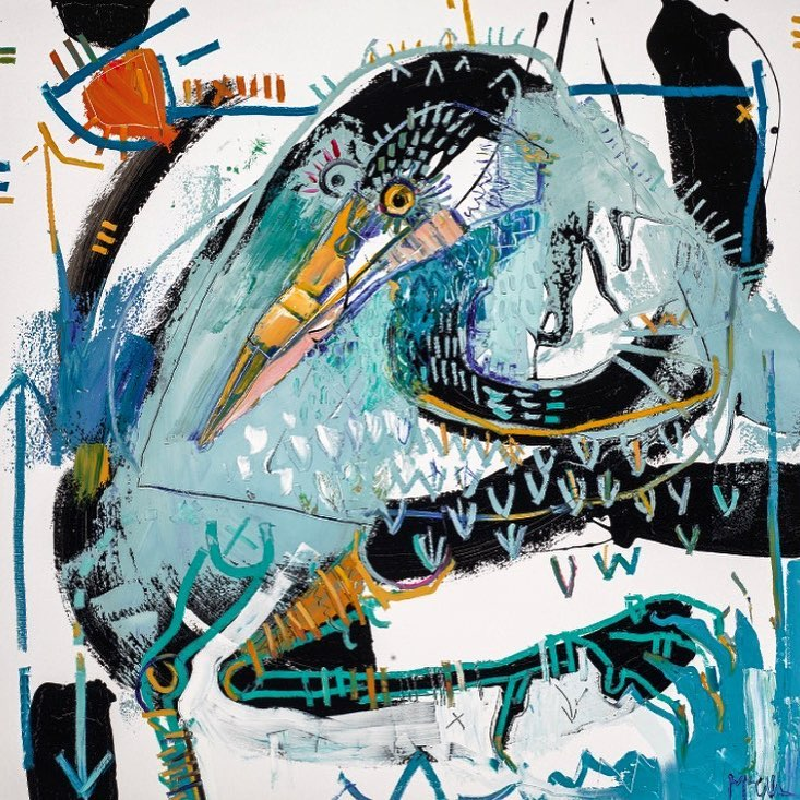 Heron McClendon Fine art Painter