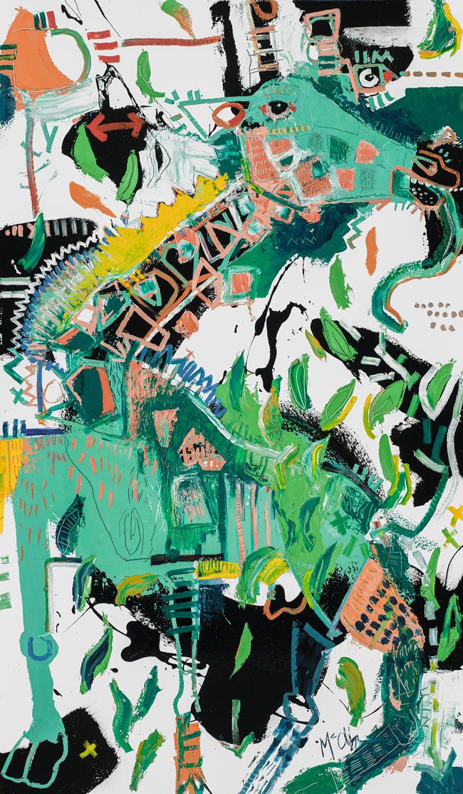 Giraffe McClendon Fine art Asheville