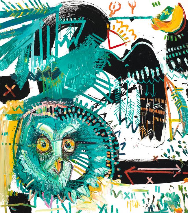 Grey Owl McClendon Asheville Fine art