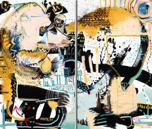Bear 2 Daniel McClendon Modern Art Asheville