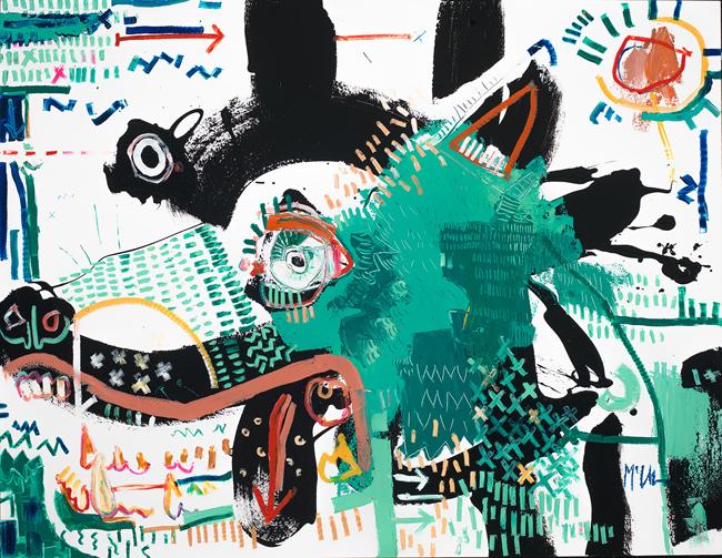 Canine Daniel McClendon Asheville Fine art modern painting