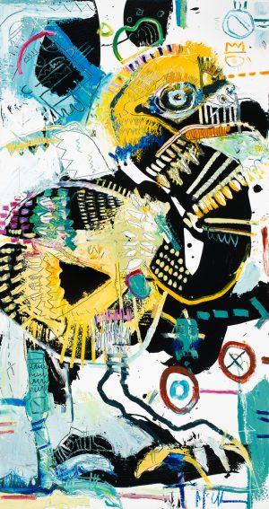 Dodo Painting daniel McClendon Asheville
