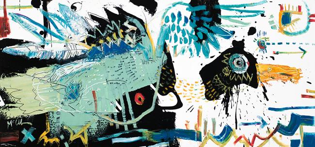 Mallard Duck McClendon fine art asheville