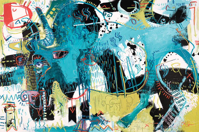 Gaur McClendon Fine Art Modern Fine Art Asheville Painting