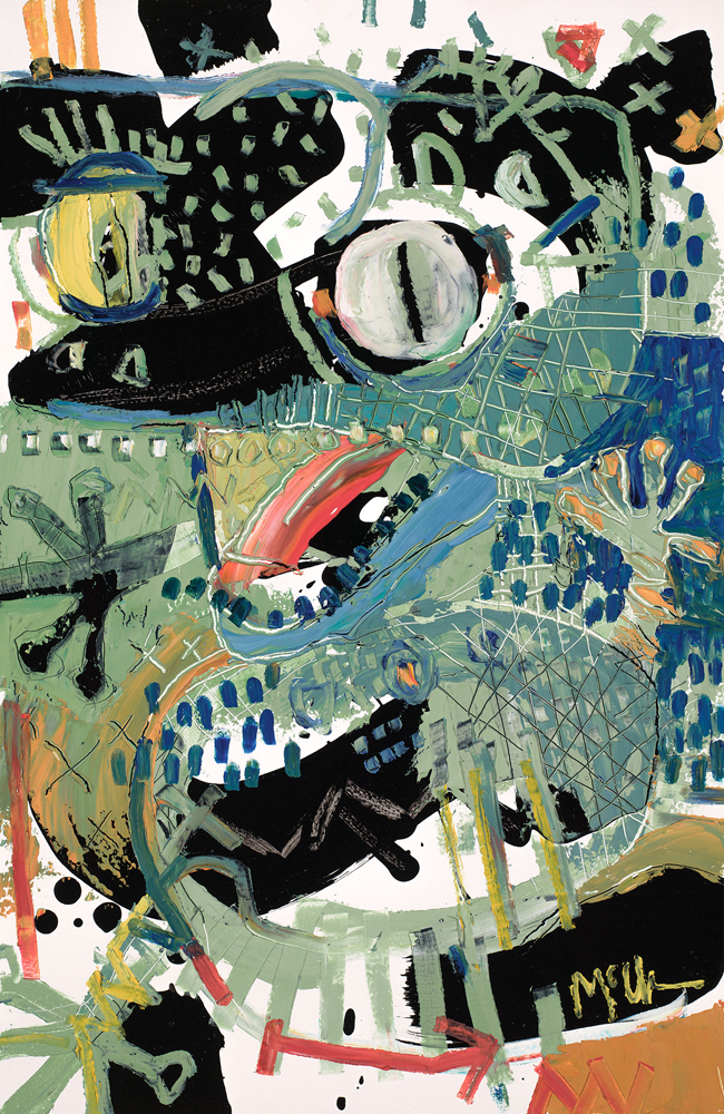 Gecko McClendon Fine Art Modern Fine Art Asheville Painting