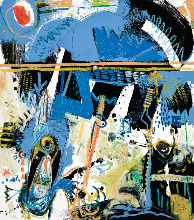 Egret McClendon Fine Art Modern Fine Art Asheville Painting