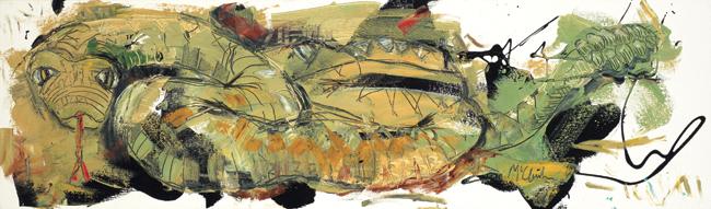 Snake McClendon Fine Art Modern Fine Art Asheville Painting