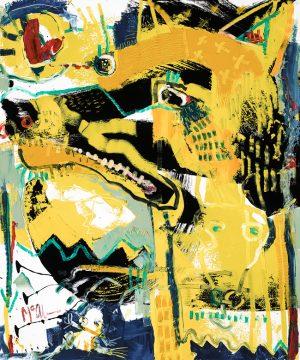 Dingo McClendon Fine Art Modern Fine Art Asheville Painting