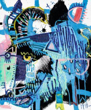 Goat McClendon Fine Art Modern Fine Art Asheville Painting