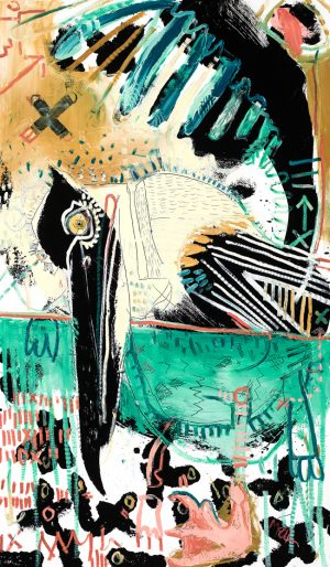 Pelican McClendon Fine Art Modern Fine Art Asheville Painting