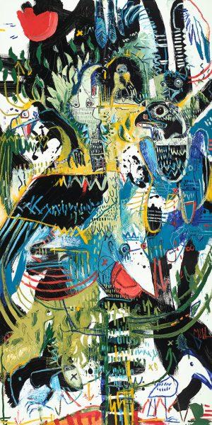 Perch McClendon Fine Art Modern Fine Art Asheville Painting