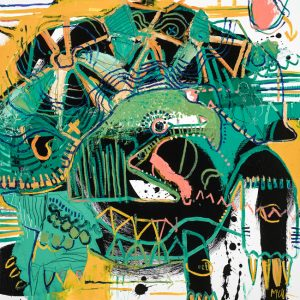 Tortura turtle mcclendon fine art painting asheville