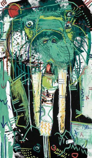Walrus McClendon Fine Art Modern Fine Art Asheville Painting