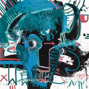 Bison VII 7 Buffalo McClendon fine art asheville