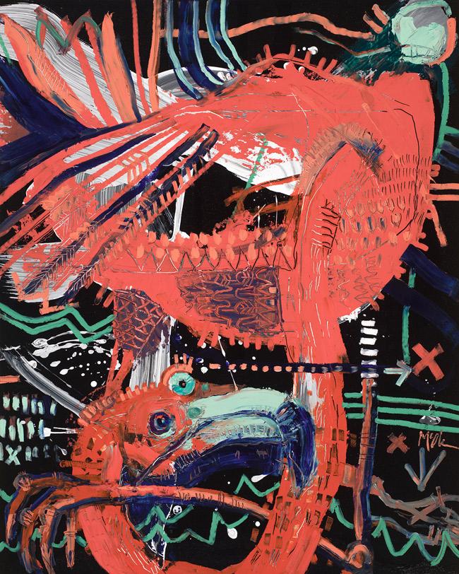 Flamingo mcclendon asheville fine art