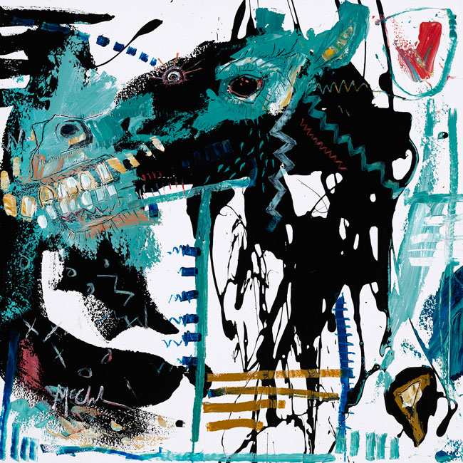 Horse III painting by Daniel McClendon