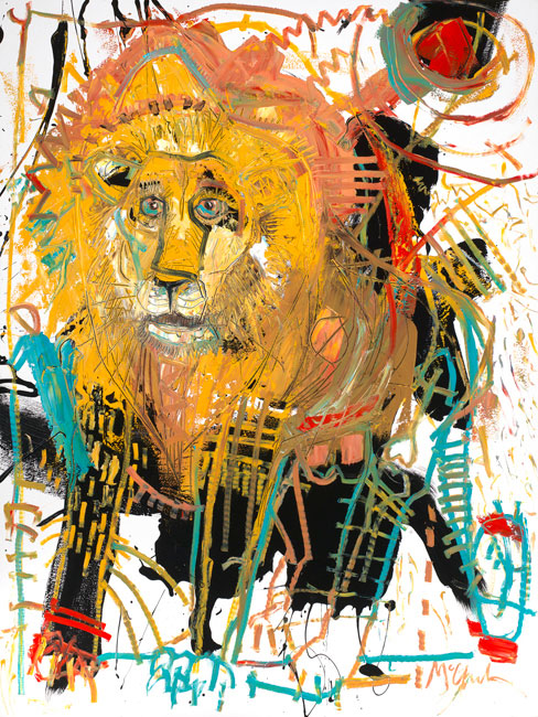 Lion III by Daniel McClendon Asheville