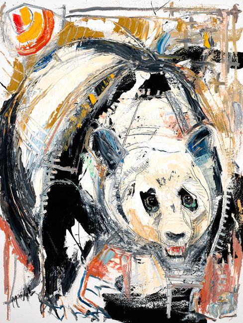 Panda by artist Daniel McClendon