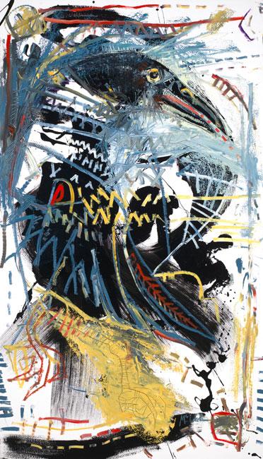 Raven II Painting by artist Daniel McClendon