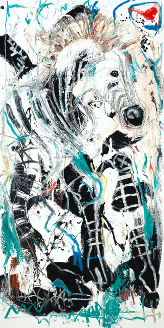 Zebra Painting by artist Daniel McClendon