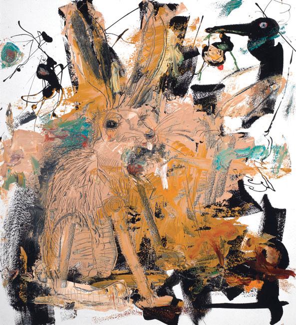 Hare by Asheville artist Daniel McClendon