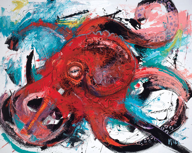 Octopus II by artist Daniel McClendon