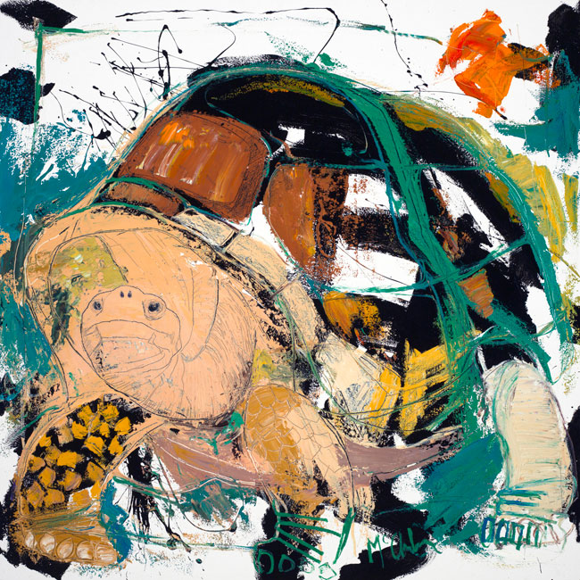 Tortoise II Painting by Daniel McClendon