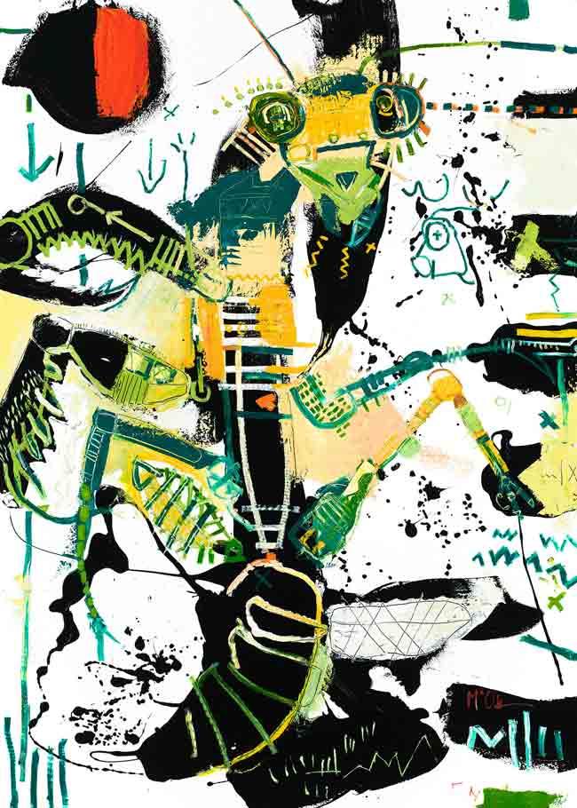 Preying Mantis Asheville Contemporary art McClendon