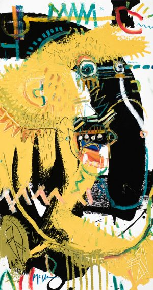 proboscis monkey mcclendon art modern asheville