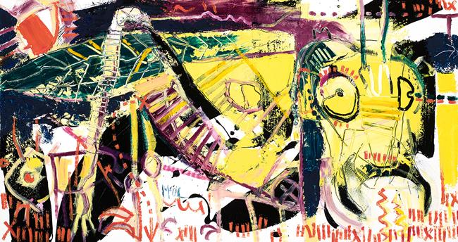 Katydid McClendon Fine Art Modern Fine Art Asheville Painting