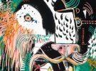 Lion IV McClendon Fine Art Modern Fine Art Asheville Painting