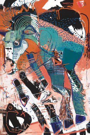 Horse 6 VI mcclendon fine art asheville