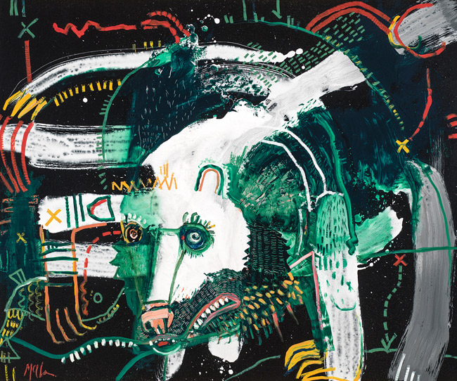 Spirit Bear Merkude bear mcclendon fine art asheville
