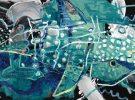 Whale Shark McClendon Fine Art Modern Fine Art Asheville Painting